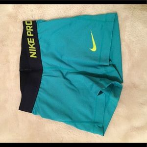 Nike Pro Dri-Fit Athletic Shorts